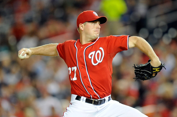 Jordan Zimmermann is heading into Arbitration shortly with the Nats coming off of his best year in the Major Leagues with a 12-8 Record.  For his career, he is 24-26 with a 3.47 ERA.