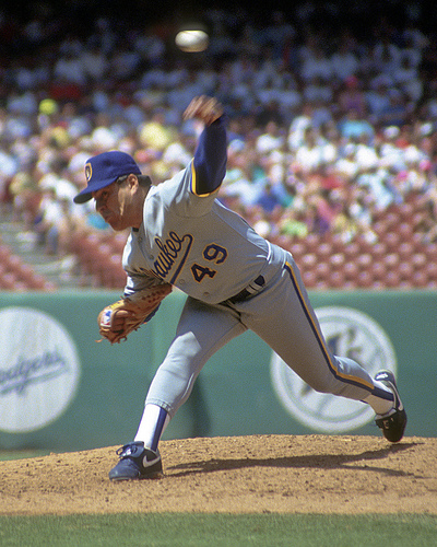Teddy Higuera finished 2nd In Rookie Of The Year Voting in 1985.  He then followed that up by placing 2nd and 6th in AL Cy Young Voting in 1986 and 1987 respectively.