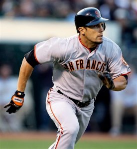 Torres as a member of the Giants in 2009. He hit an average of .253 his 3 years as a Giants