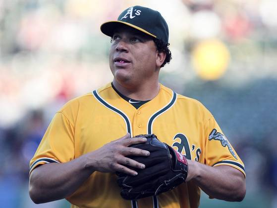 Looking at the A's roster, they are missing a true pitching ace. Is Bartolo the answer?