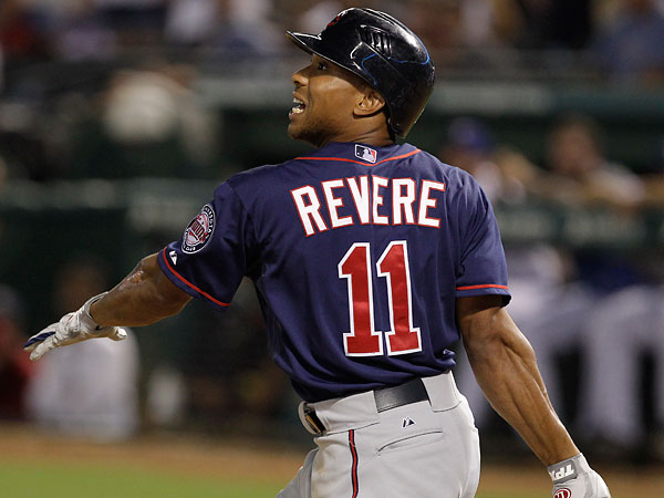 Ben Revere would be best suited to hit in the 2 slot behind Jimmy Rollins this year, as he makes great contact (1 SO/Per 10.7 PA) , yet he doesn't walk much.