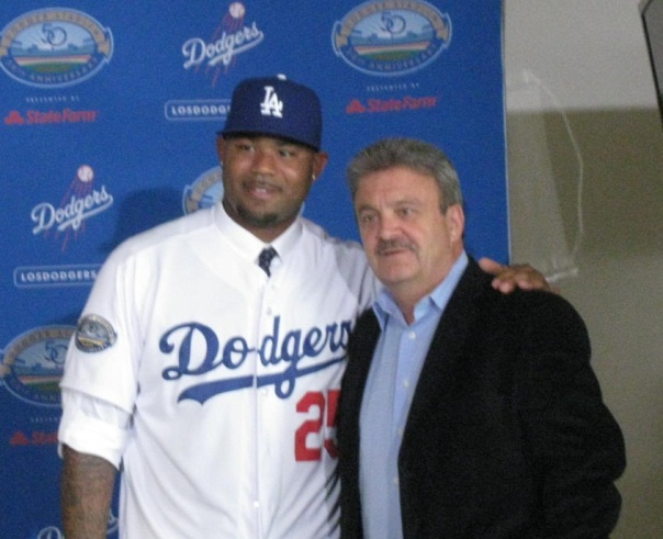Carl Crawford is on a throwing program now and maybe ready for opening day. CC enters the 3rd of a 7 YR/142 Million Dollar Contract.  He should find himself back in a Leadoff role once he returns for the Dodgers.