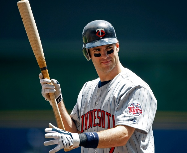 Joe Mauer has not been the same player since he moved permanently to a 1B. His career 3 slash line at the position is .280/.353/.385. That is not cutting it at 1B. Perhaps he could split time at DH with Sano, where he has a career OPS of .819 doing that. Mauer may be t difference in the club making the playoffs or not based on his performance.