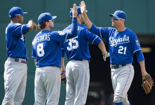 Eric Hosmer, Mike Moustakas and Jeff Francoeur have a combined 2 HRs between them to start the 2013 MLB Campaign.  Despite KC being tied for fewest HRs in the Major Leagues (and last in the AL with 16 HRs) - the club is 15 - 10 and only trails Detroit by one half game in the American League Central.