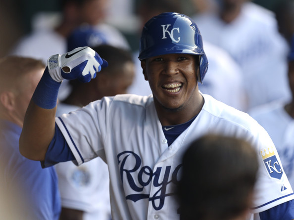 Salvador Perez hit a 2 run HR to make it a 5 -4 game, then hit a 2 run Double to break it open for KC in the 8th inning, as part of a 6 run frame against the Blue Jays Bullpen.  The Royals pulled their record over .500 at 13 - 12 on a 10 - 7 win over the Canadian franchise.