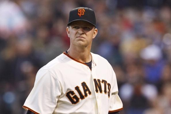 Cain finished 2012 career year 16-5 with a 2.79 ERA, both career bests. He started all 4 game clinchers in the postseason getting the Win in the NLDS and the NLDS. His 2012 season proved that he is the ace of the San Francisco Giants. This all prompted manager Bruce Bochy to name Cain the 2013 Opening Day starter.  This year has not been as kind to the Veteran Pitcher, he is 8 - 9, with a 4.24 ERA in 28 GS and 169.2 IP.  After this season concludes, Cain will make $101 MIL from 2014 - 2018, so the club will need him to bounce back to his ace like stuff.