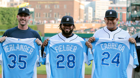 The Trio of Verlander, Fielder, and Cabrera represented Detroit at the All-Star game in 2012 as well as on the MVP ballot with Cabrera winning, Verlander coming in 8th, and Fielder coming in 9th. They also combined for an 18.8 WAR in 2012