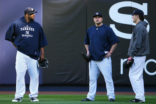 Despite all of the Injuries,switching back to the rotation, pitching in the hot bed of New York, Chamberlain and Hughes are now veterans for the Yankees Pitching Staff as home grown talent.  Will both, 2 of them or none of them come back for 2014?  2013 will have a lot to say about this.
