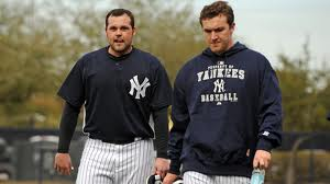 Chamberlain and Hughes battled for a Starting Pitcher spot for a few Spring Trainings.  Hughes ultimately beat Chamberlain out