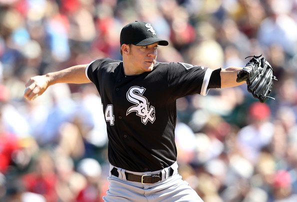 Jake was 58-33 between the years of 2004 - 2007 and lead the NL in ERA for the 2004 and 2007 years.  Peavy won the NL CY Young in 2007.  The Sox are hoping he can regain his ace like numbers in 2013.