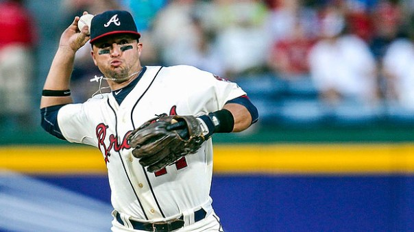 Martin  Prado made an ALL-Star team with the Braves in 2010 when he hit .307 and scored 100 runs in 140 Games. He also finished in the top 10 for NL MVP voting that year. He is a consistent .300 with some pop. He has hit for a .300+ Avg. in 4 of the last 5 years.  His Career 3 Slash Line is .295/.345/.780.