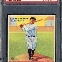 An American Hobby:  Baseball Memorabilia And The Great Bambino