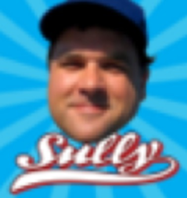 The 1st logo for the Sully Baseball Daily Podcast.