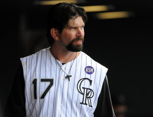 Helton is also the Active Leader in Doubles with 570.  He had 100 Extra Base Hits for 2 consecutive years in 2001 and 2002.  His 105 XBH in 2001 - is the 5th highest single season total of ALL-Time behind Ruth - 119 (1921), Gehrig - 117 (1927), Bonds - 107 (2001) and Chuck Klein - 107 (1930).