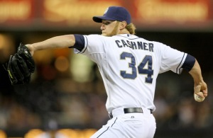 Andrew Cashner health will be key going forward for the Padres this season. If Cashner is healthy he could be the team's ace for their starting rotation.