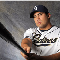 Carlos Quentin was acquired a few years ago in a trade with the White Sox.  He has had a tough time staying on the field.  His 2014 numbers are brutal, but he did carry an .850 OPS combined in 2012 and 2013 combined for the Padres.