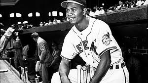Larry  Doby was the 1st player to break the color barrier in the American League - and also the 1st black payer to make the jump directly from the
