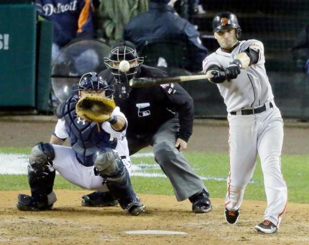 Without Marco Scutaro during the second half of the 2012 season who knows if the Giants would've gone nearly as far as they did. He hit a very impressive .362 since joining the Giants in July. He hit a new NLCS record .500 during the 2012 NLCS. Resigning him was definitely a priority for the Giants so signing him through 2015 on a 3 yr./$20,000,000 was huge for both sides of the deal.