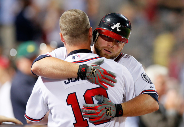 With Chipper Jones finally retiring, McCann is the longest tenured Brave along with Tim Hudson. A great season from McCann would certainly ease the pain of losing an All-Time great, fan favorite, and class act in Chipper Jones.