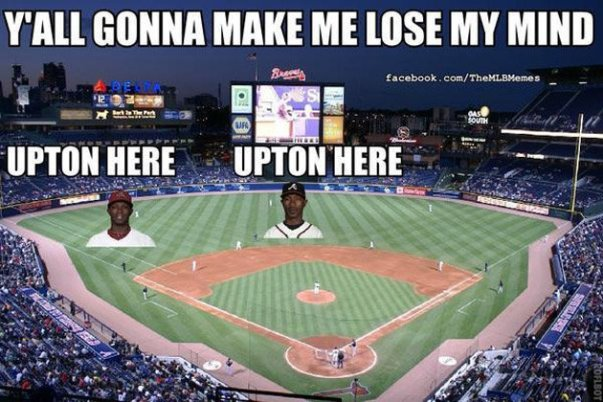 "For those of you that follow @mlbmemes, I found this meme very funny. It is a play on the DMX song, ""Party Up""."