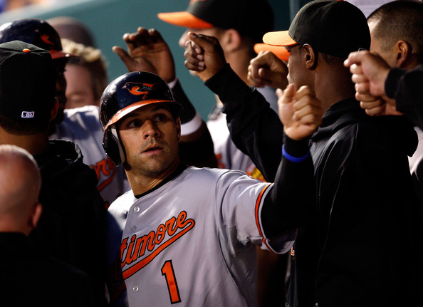 Brian Roberts was one of the best Lead - Off hitters in baseball from 2004 - 2009.  He Scored 604 Runs (100 per year), Stole 212 Bases(average of 35 per year and clobbered 278 Doubles (average of 46 per year).  He is the ALL - Time Leader for Doubles in a Single Year by a Switch hitter (56 in 2009)