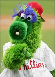 The Phanatic routinely wrecks the field during rain delays with his ATV