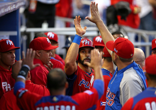 Angel Pagan led Puerto Rico to the 2013 WBC Championship.