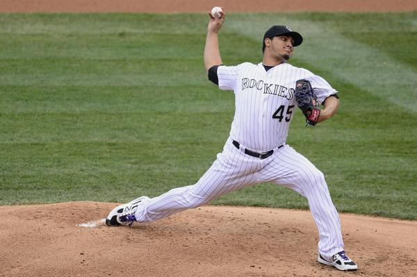 I think Jhoulys Chacin could be great for the Colorado Rockies for years to come. I feel like I am probably more high on him as a pitcher than most. I would be interested to hear what Rockies fans who have seen more of him than I have to say. Comment if you have an opinion