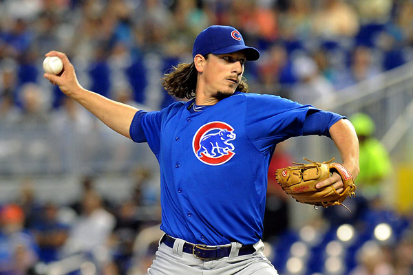 "Jeff Samardzija was undoubtedly the gem of the Cubs rotation last season. He's not quite an ""ace"", but in 213.2 innings in 2013, he threw 214 strike outs, which is stellar to say the least. As the Cubs take major strides in rebuilding, Samardzija has been rumored to being shopped around to other clubs, possibly filling in missing holes in the farm system, or gaining (always valuable) relief pitching, witch the Cubs have missed sorely for years."