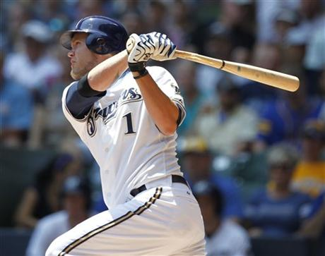 Hart is a 2-time All-Star ('08 and '10) who has been very valuable to the Brewers with his ability to play multiple positions, and hit anywhere in the order effectively. He also brings 100% effort to the field every night which has made him a fan favorite.