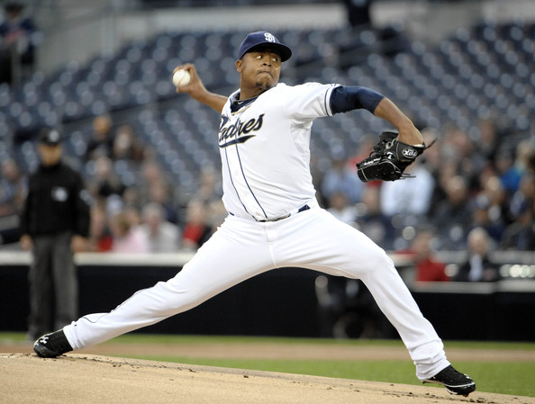 Volquez is coming off an up-and-down year with the Padres. He went .500 with an 11-11 record and had an average ERA at 4.14. He should be prepared for the 2013 season as he threw against real competition in the 2013 WBC so he'll already have all of his stuff developed for the duration of 2013.