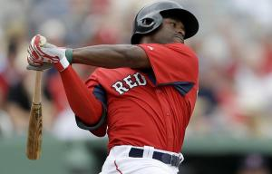 Jackie Bradley can go a long way to help BoSox fans forget about the departure of Jacoby Ellsbury.  Known as a patient batter with tonnes of speed, and exceptional fielding, Bradley taking the next leap up to the MLB on  a permanent basis would do wonder for the Red Sox in 2014.