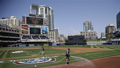 The home site of the 2016 MLB ALL - Star Game, The Petco Park..
