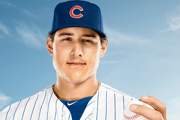 Anthony Rizzo entered 2013 with high expectations as the Cubs Opening Day First Baseman. He has come along way since 2008.  The man has battled injuries, 2 team changes and has settled down in Chicago to be one of he most promising young power hitting prospects in the MLB today.  He could end up being a 35 - 40 HR, 100 RBI man in the 'Windy City' - and this would make him an icon at Wrigley Field.  Recently he signed a 7 YR/ $41 MIL extension and will be a vital part in the rebuild of this franchise