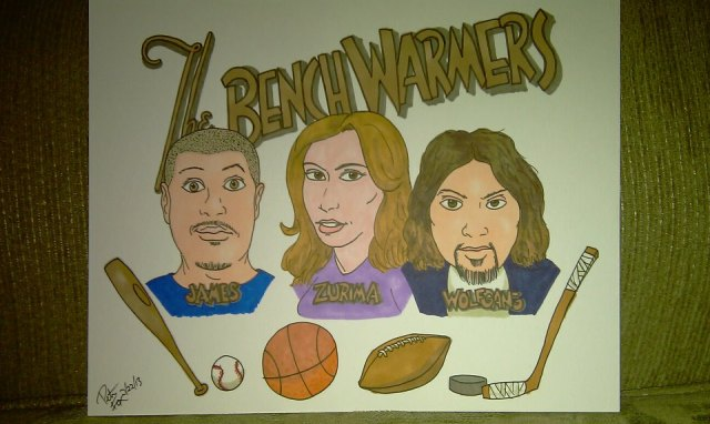 The Benchwarmers Show is A Podcast that features all of the main Sports.  Baseball is still James favorite though.