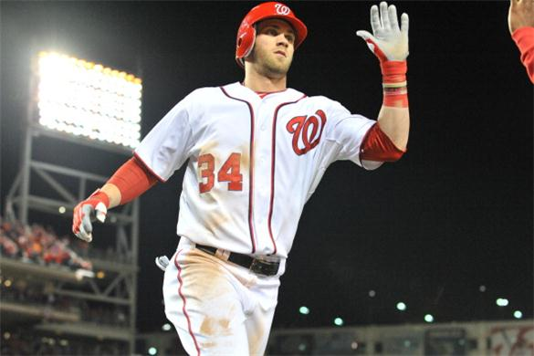 Bryce Harper takes his Major League leading HR and RBI totals into Busch Stadium next weekend - after Washington hosted its 1st 21 games against the Braves, Marlins, Phillies and Twins. Stiffer competition is just around the corner.