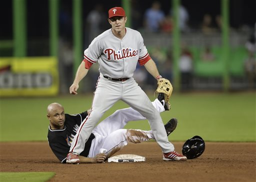Chase Utley has seen a great start to the 2013 Season - after being hurt for most of the 2012 year.  He clubbed the Game Winning RBI in yesterday's 3 - 1 decision over the Phillies.  The Second Baseman is in the last year of his contract and would stand to benefit from a season put up like his 1st 10 games.