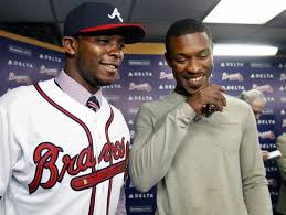 Justin Upton comes to Atlanta a year after finishing 2012 with .280/.355/.430 slash line and only 17 HRs.  So far he is .348/.415/1.306 - with 7 Big Flies and 11 Runs Batted In during 2013,