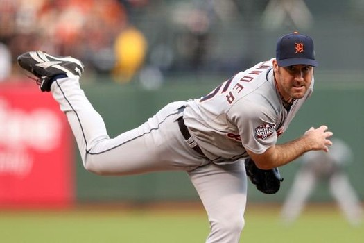 Justin Verlander paid immediate dividends for his new Salary Extension in the Tigers Season Opener on the road yesterday at Target field, throwing 5 scoreless Innings and fanning 7 batters.  Verlander anchors a talented Detroit Pitching Rotation that features Max Scherzer, Doug Fister, Anibal Sanchez and Rick Porcello