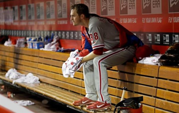 Kyle Kendrick 2007- Present  56-43 (.566)  with a 4.22 ERA:  Kyle Kendrick came onto the scene in the middle of the 2007 year and finished 5th in Rookie of the Year Voting, by posting a 10-4 record with 3.87 ERA.  He has since had 4 straight winning seasons as the 5th man out of the rotation - before narrowly missing a 5th straight year last campaign (11 -1 2, 3.90 ERA). Kendrick has also seen some spot duty in the Bullpen for the franchise in his days