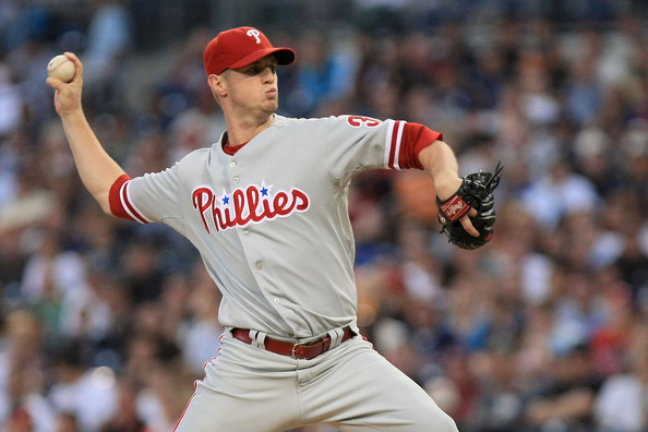 Kendrick is Arbitration Eligible in 2014 and a Free Agent in 2015.  he could reel in 13 - 15 Wins during this year for the club.  He is great insurance for 2014 should Halladay not make his Vesting Option and leave the franchise.  Or if they end up trading Cliff Lee.  At $4.5 Million this year, he helps out the club for payroll value!