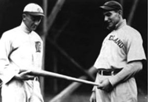 a nap lajoie and Ty cobb