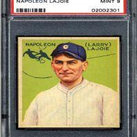 An American Hobby:  Baseball Memorabilia - Nap Lajoie's 1933 Goudey Gum Card