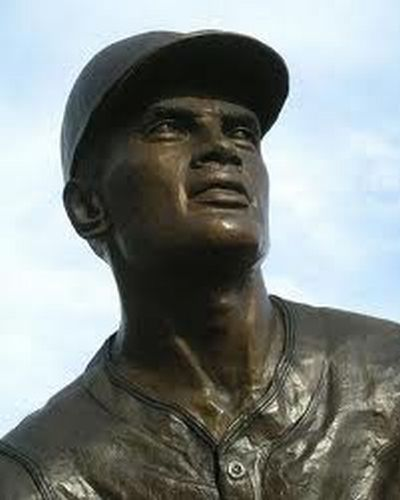 Outside PNC Park is the this big Statue of the Great Legend Roberto Clemente.  Also, You can walk across the Clemente Bridge, right outside the Left Field Bleachers when you exit.  The native of Puerto Rico still sits in 28th of the ALL - Time Hit list with exactly 3000 base knocks