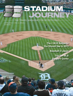 Stadium Journey is both a website and a magazine that thrives in rating and reviewing Sporting Venues around the World.  Among those sports is MLB.  Co - Founder Paul Swaney informed me that the recent magazine is fully geared to help the avid baseball fan visit their favorite ballpark