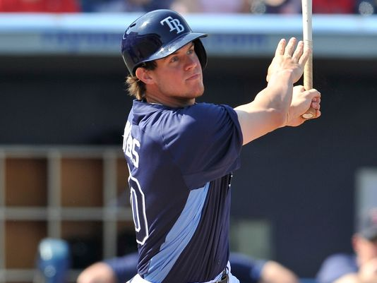 Wil Myers was given the day off Sunday versus R.A Dickey.   He has a 3 Slash Line of .310/.336/.796 in 122 AB during his 28 games this year.  The club has gone 21 - 8 since they called him up.  Chris Archer is the other June callup - and is with a 2.73 ERA in 10 Game Starts for the club.  With these kind of players in the system - it is not as prudent to make a Trade Deadline when you keep adding budding budding superstarts from your Minor League System.