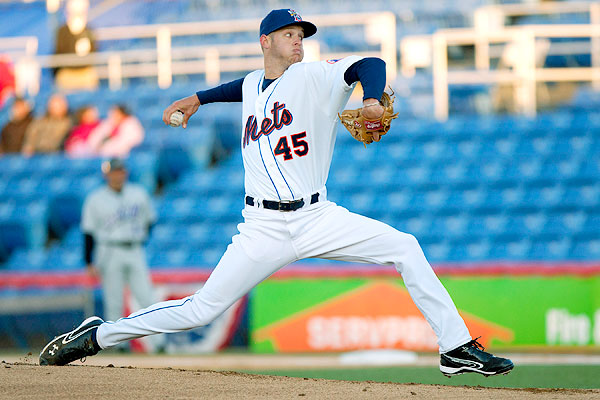 Zack Wheeer was brought to the Mets via Trade for Carlos Beltran   This 6 FT 4 - 185 LB Right Handed specimen was ranked #8 by Baseball America in 2013.  Last year, Wheeler was 12 - ,with a 3.26 ERA.  He fanned  148 Batters in 149 Frames with Binghamton (EL) and Buffalo (IL).  This year he has struggled in the PCL with hitter friendly parks.