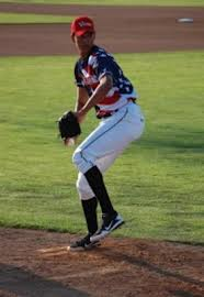 Joan  Gregorio has been an incredible pitcher for the Greenjackets this season.  You can see by his size that he will be quite a mound presence