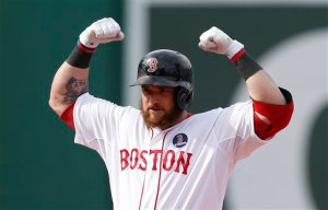 Jonny Gomes has to be becoming a fan favorite already. He has bounced around the league having up and down years with varying amounts of playing time, but I love the idea of him platooning with Nava in LF this year for the Boston Red Sox. Welcome to Boston Jonny.