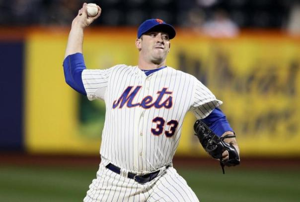 "Matt Harvey with his stellar outings so far this season may have just become the New York Mets ""ace"". Harvey is now 4-0 with a 1.66 ERA. Harvey has pitched 40.1 innings - only given up 21 hits, 12 Walks for a League Leading WHIP of .0818  For his awesome 5 weeks we name him the MLB Reports NL Pitcher Of The Month"